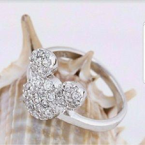Disney Mickey silver ring.  LAST ONE!